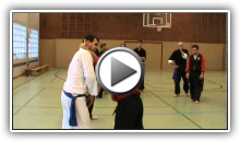FMS Seminar in Germany with Master Pinto (self defense, trapping, weapons, mma, pressure points)